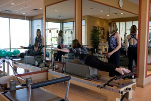 Back extension on the Pilates Reformer