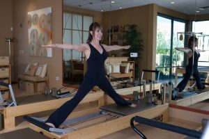 Paula Kalish - Side Split on the Reformer