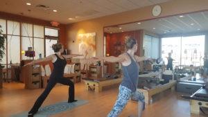Yoga at Bodies by Pilates with Kiera